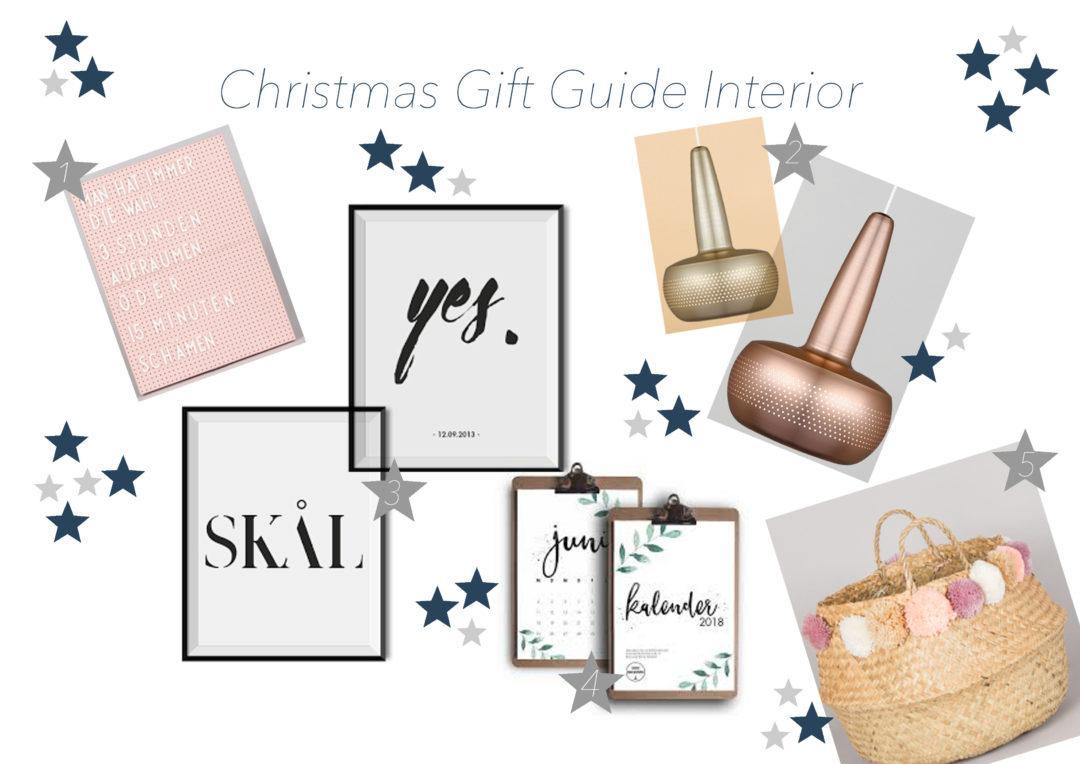 Christmas Gift Guide: 5 Geschenkideen für Interior-Begeisterte ...